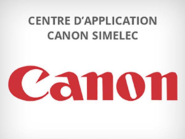 Ouverture prochaine du centre d'application Canon Simelec :